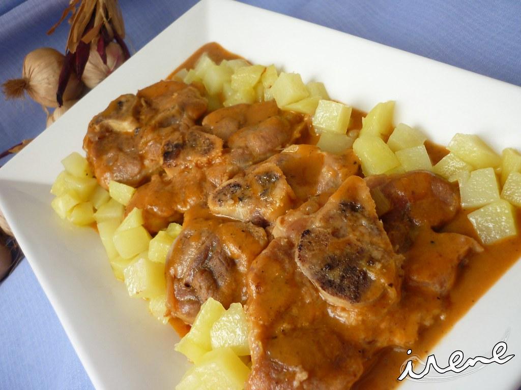 La cocina casera de irene osobuco en salsa for La cocina casera