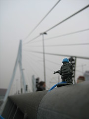 from Erasmusbrug, Rotterdam, Holland by Pierre