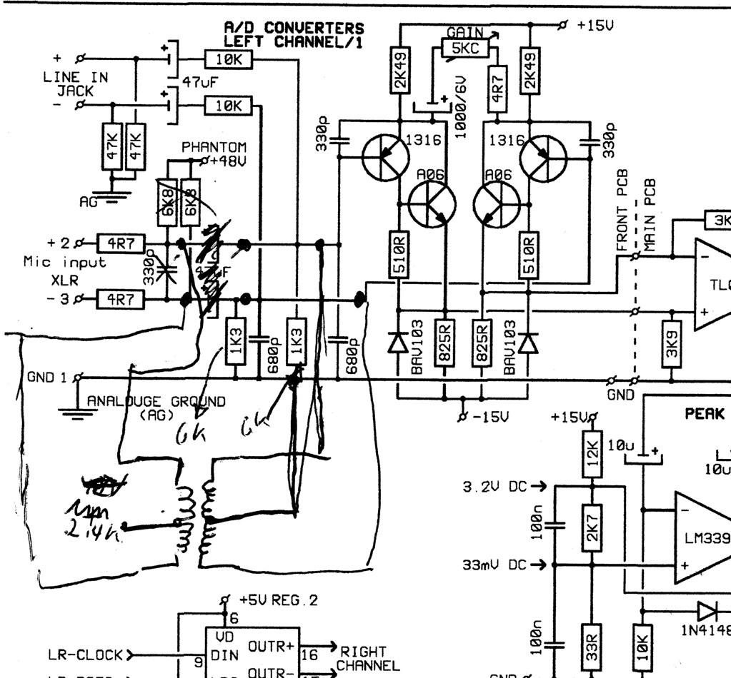 Ada8000 Transformer Mod Modding The Ada 8000 To Add A