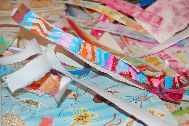 Art Journal Strip Ease