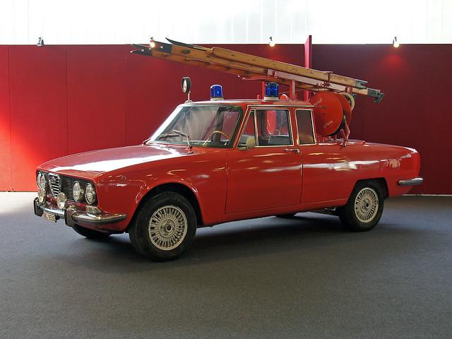 Alfa Romeo 2000 Vigili del Fuoco