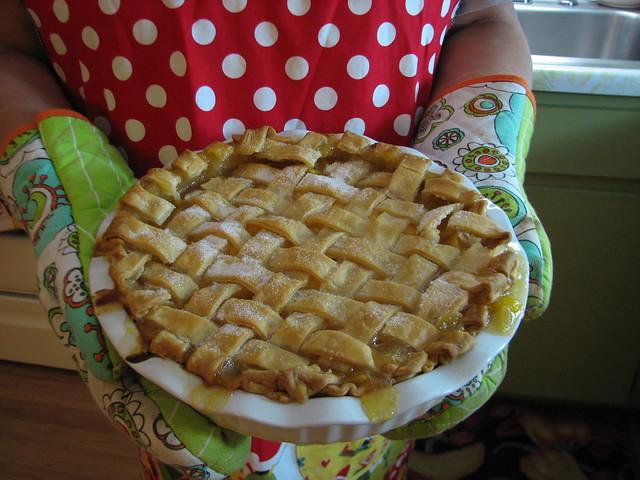peach pie made with fresh Georgia Peaches, darlin!