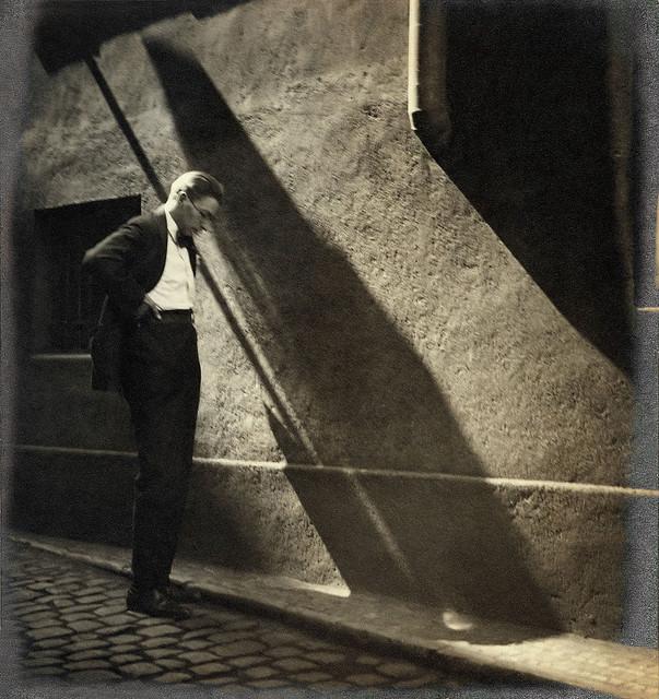 Jaromír Funke, Prague, by Josef Sudek c. 1928