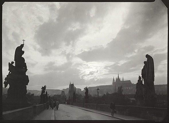 Charles Bridge, by Josef Sudek  c.1945