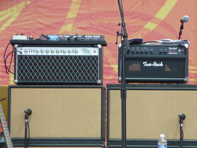 John Mayer's Amps @ Crossroads Festival