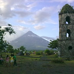 Mayon Volcano and the Cagsawa Ruins