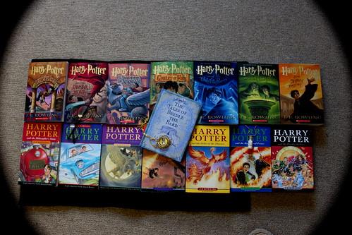 harry potter books :)