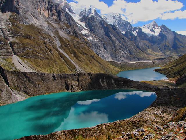Lakes-Paso Siula-Huayhuash Trek-Peru