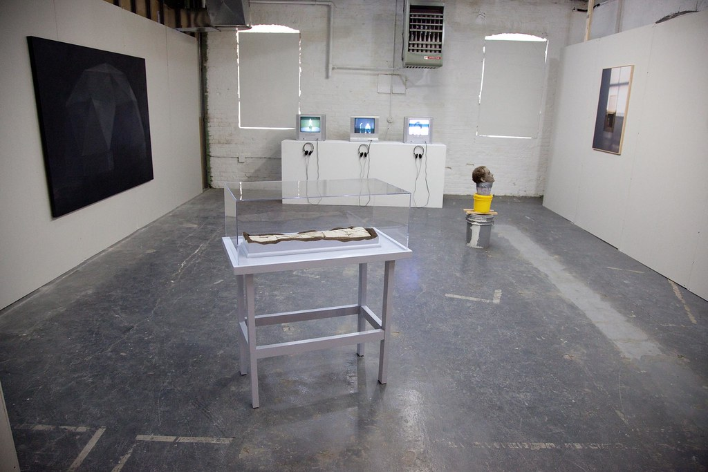 2010 exhibition at the Flux Factory in Long Island City.