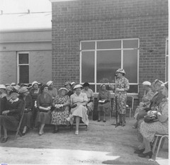 The Opening of the Club Room of the Mallala C.W.A. Branch