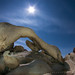 Under the Rising Moon - Arch Rock, Joshua Tree National Park, California by Jim Patterson Photography