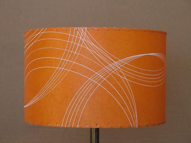 Orange Drum Lamp Shade Flickr Photo Sharing