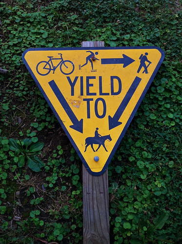 Yield to...?