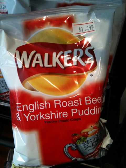English Roast Beef & Yorkshire Pudding Potato Chips ...