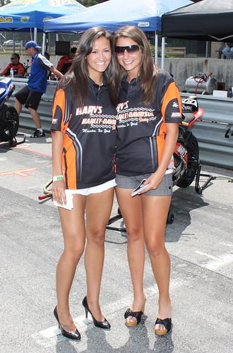 Harley Davidson Grid Girls