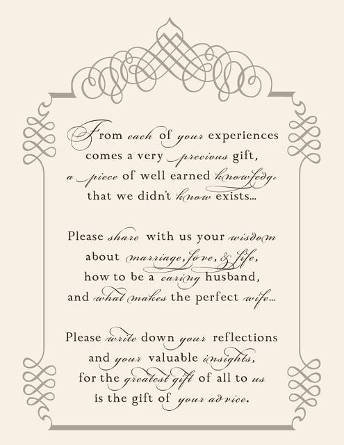 jenga guest book instructions