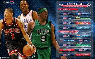 2010 Team USA Schedule Wallpaper