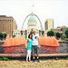 We're the only ones not wearing red! Even the fountain is red-ish :) by 8 SίMpLe RuLeS *Enjoying Mommyhood :)*