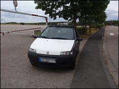 FIAT Punto après les réparations (avant la peinture ^^)
