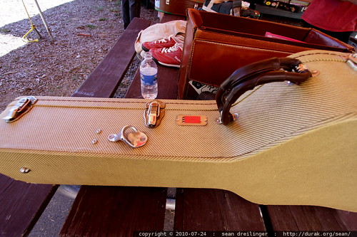 note the bottle opener on this guitar case
