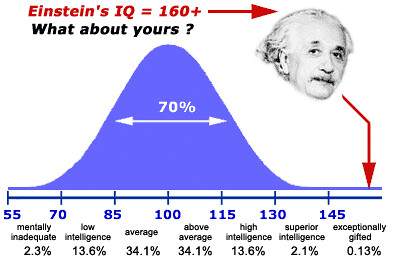 IQ Bell Curve