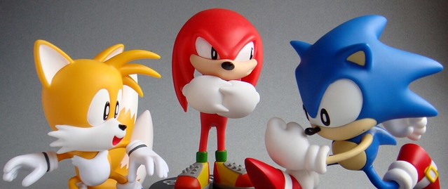 Tails, Knuckles & Sonic