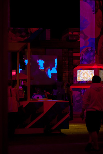 Club Glow at the Hollywood Pictures Backlot by FrogMiller