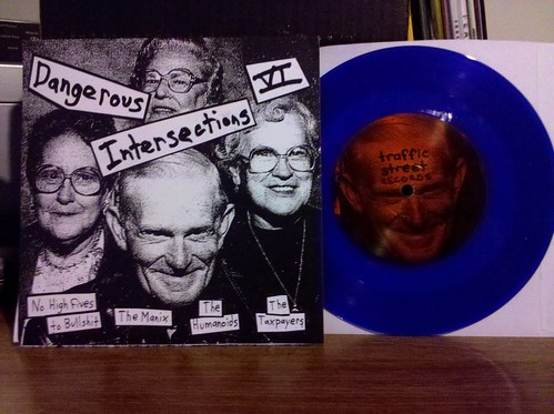 V/A - Dangerous Intersections VI - Blue Vinyl /180 by factportugal