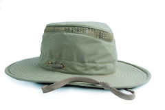 brown(0.0), khaki(0.0), cap(0.0), baseball cap(0.0), clothing(1.0), sun hat(1.0), hat(1.0), headgear(1.0),