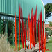 Dale Chihuly-Red Reeds 1