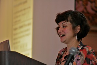 Zvezdelina Stankova at MathFest 2010