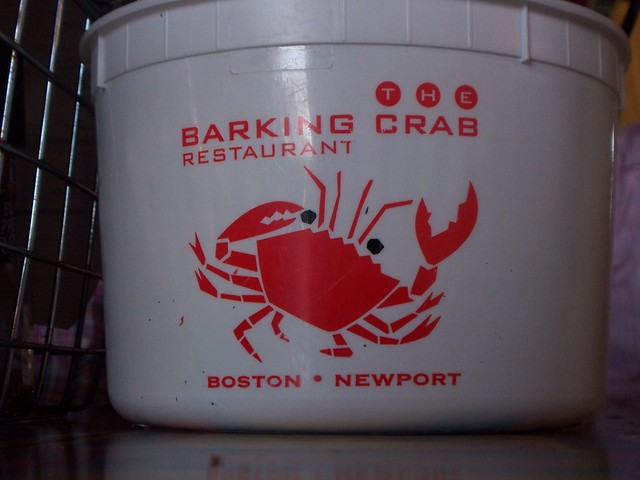 lunch at the barking crab