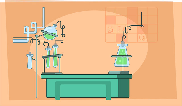 Cartoon Science Lab for Pinterest