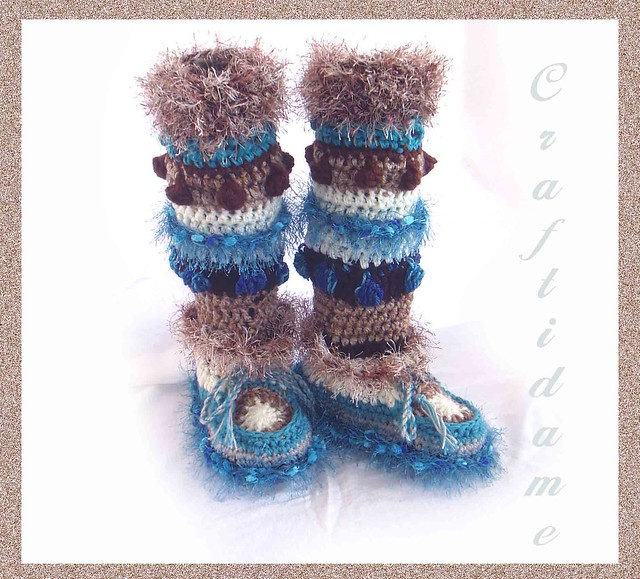 Easy Adult Slippers - Jesse's Branch Charity Crafts