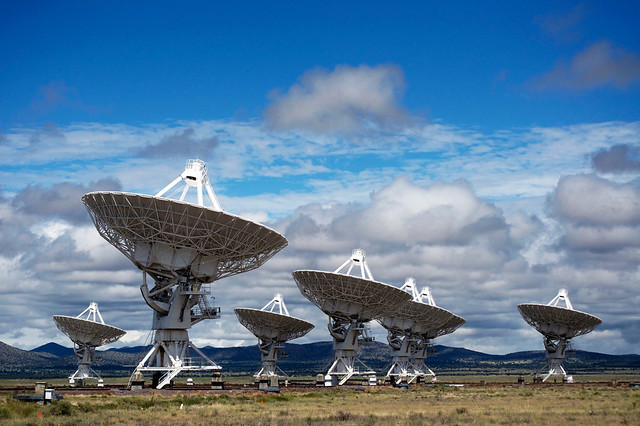 Very Large Array by CC user cgpgrey on Flickr