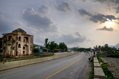 Attock City (Campbellpur) and Mughal caravan sarai on the famous Grand Trunk road by jzakariya