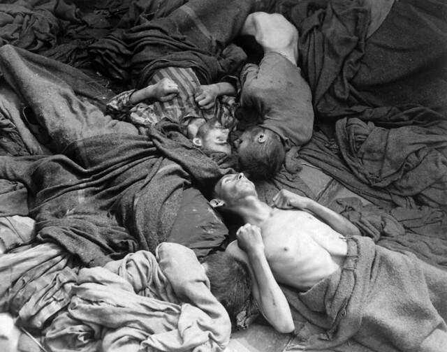 Dachau 1945, by Sidney Blau