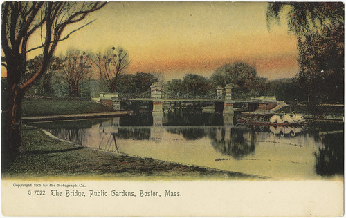 The Bridge, Public Gardens, Boston, Mass. [front]