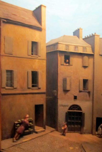 Boston - Back Bay: Boston Public Library McKim Building - Wiggin Gallery Dioramas - Honore Daumier