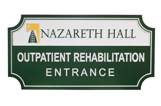 medical office sign by strata outdoor entrance signmakers