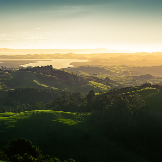 New zealand landscape sunset flickr photo sharing for Landscaping auckland