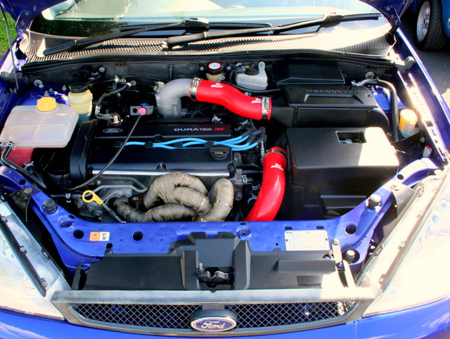 Ford Focus Rs Mk1 Engine Bay Flickr Photo Sharing