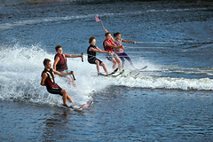 U.S. Water Ski Show Team - Scotia, NY - 10, Aug - 03 by sebastien.barre