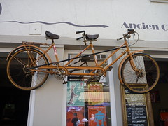 Old tandem in Vianden