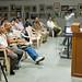 Madhulika welcoming Nilesh for the workshop by Gunjan Karun
