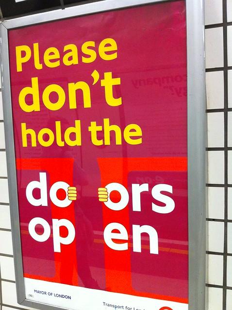 London underground doesn t understand internet memes flickr photo