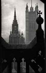 The Victoria Tower, London 1934, by E.O. Hoppe