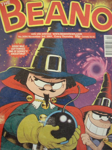 Beano Guy Fawkes Special 2001