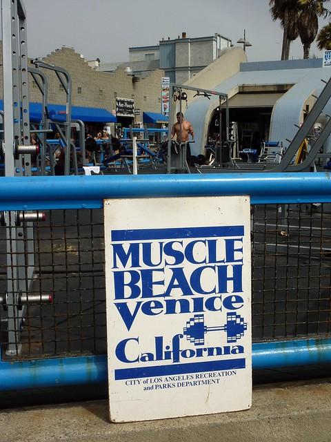 Venice Beach Bodybuilding Restaurant