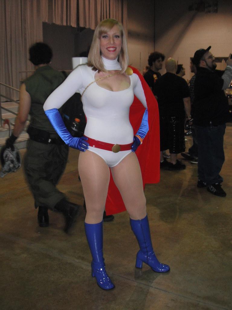 Flickr photos of power girl | Picssr